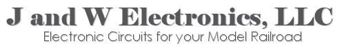 J and W Electronics - electronic circuits for your model railraod